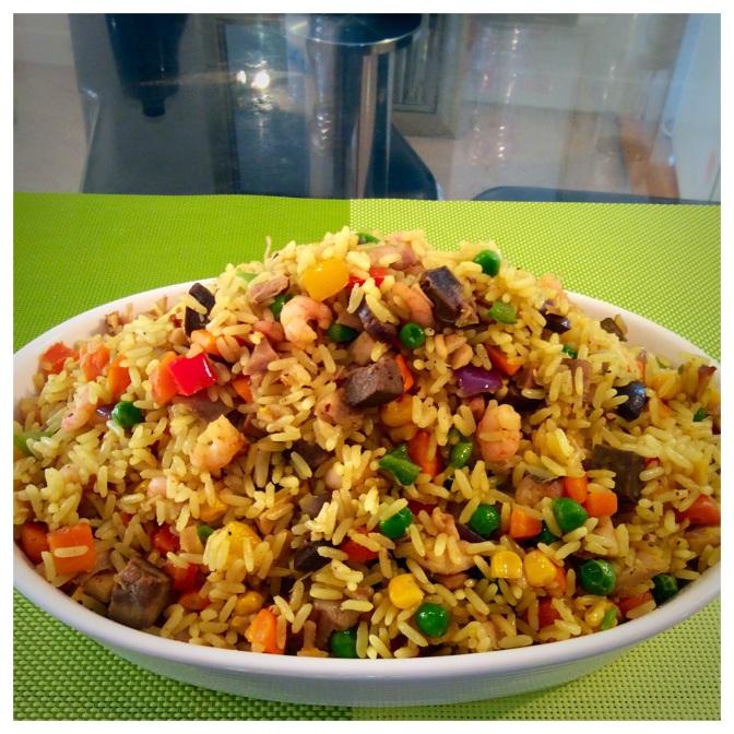 Nigerian Fried Rice….